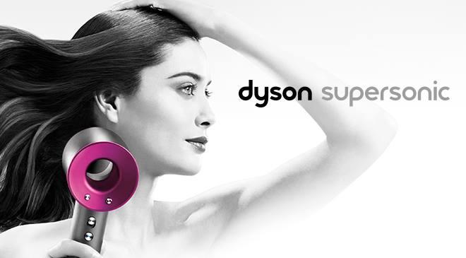In salone asciugatura con Dyson Supersonic. L' asciugacapelli reinventato, con controllo costante del calore per evitare i danni dovuti dal calore eccessivo, proteggendo la naturale luminosità dei capelli, e ottenendo così un' asciugatura più rapida, brillante e capelli meno crespi.
